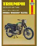 Triumph 350 and 500 Unit Twins - Haynes Manual